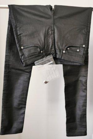 Blk dnm Tube Jeans black