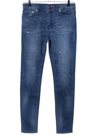 Blk dnm Skinny Jeans blue casual look