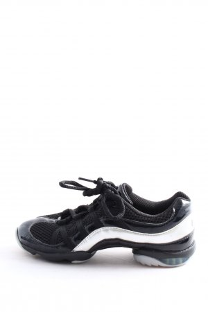 Bloch Basket à lacet noir-blanc style décontracté