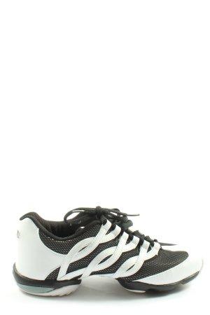Bloch Sneaker stringata bianco-nero Stampa a tema stile casual