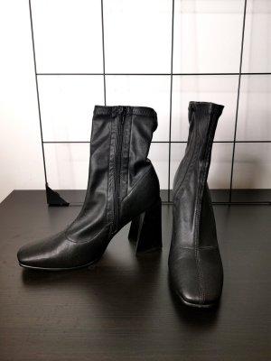 Block-Heel Boots