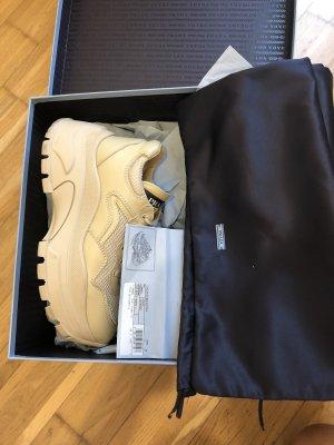 Block Leder Sneaker Prada