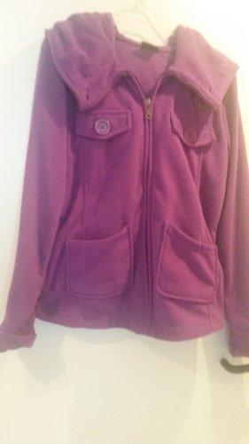 BLOGGER !! ANGESAGT LILA Kapuzenpullover Sweater Hoodie Fleece Sweatshirt Pullover Jacke - XL 42