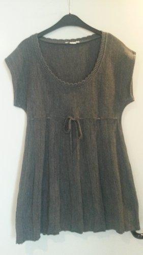italienische Mode Sudadera navideña gris-gris oscuro