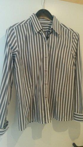 BLOGGER !! angesagte Streifen Bluse Hemdbluse Oberteil gestreift - NEU - Gr. 40  VAN LAACK