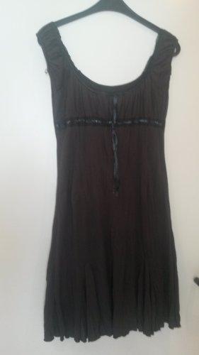 BLOGGER !! Carmen Empire Babydoll A Linie BOHO romantisch Kleid Kleidchen Gr. S