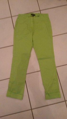 Mocca Italy Boyfriend Trousers meadow green-neon green cotton