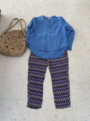 Sarouel bleu-violet