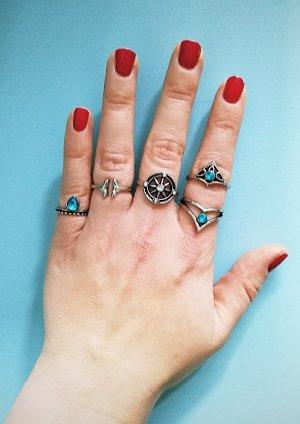 Blogger Mermaid Ringeset Ocean Blue
