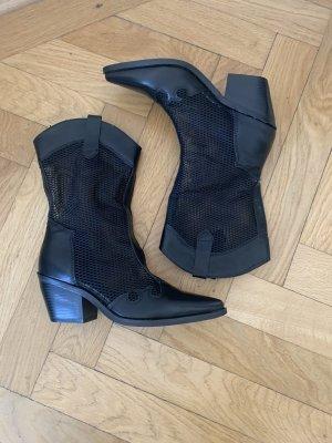 Supermode Buty w stylu western czarny