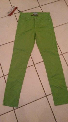 BLOGGER !! NEON Boyfriend Skinny Strech Hose Jeans Optik  IMAGINI Italy  36 evtl 38 40