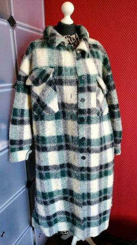 Blogger Oversize Mantel Größe 36-46 (Einheitsgröße)