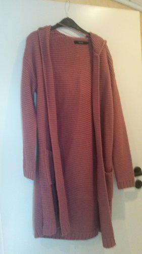 Vero Moda Cappotto a maglia rosa