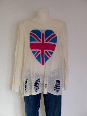 AJC Oversized Sweater multicolored polyacrylic