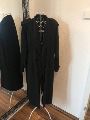 Abrigo ancho negro