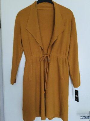 Made in Italy Gebreide jas donkergeel-neongeel Viscose