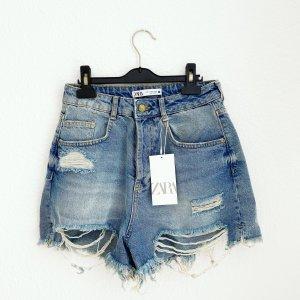 Blogger Vintage Jeansshort von Zara neu!