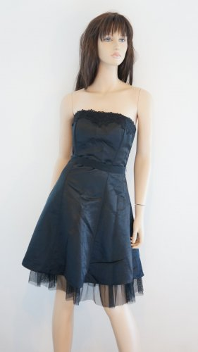 Jennifer Taylor Bustier Dress black polyester