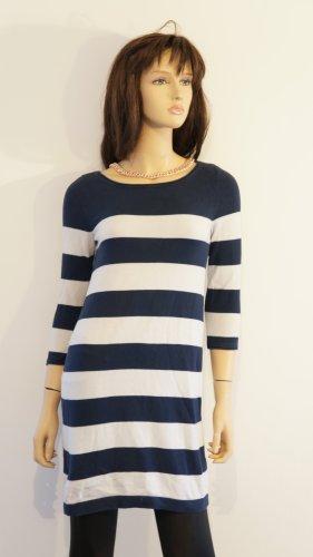 *Blogger Wunderschön Neu* Marine Strickkleid gestreift* Shirt Pullover Cardigan