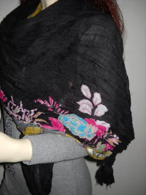 Hooded Scarf multicolored