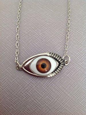 Bloggerstyle Halskette Augenoptik 3D