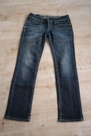 G-Star Raw Boyfriend Jeans dark blue-blue cotton