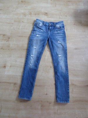 Bloggerstyle Jeans mit Rissen