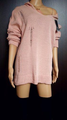 Bloggerstyle Oversize Kapuzen Pullover Einheitsgrösse