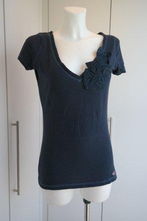 Bloggerstyle T-Shirt mit Blumenstyle Größe M