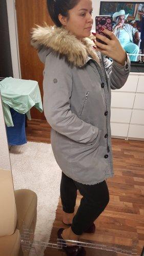 Blonde No. 8 Giacca lunga grigio chiaro-azzurro