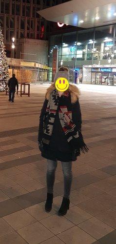 Blonde No. 8 Winter Coat black