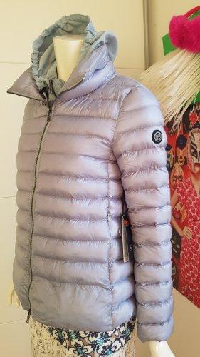 blonde N8 steppjacke luxus neu etikette small iceblue grey