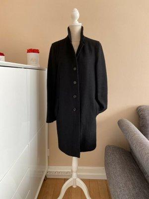 Blonde No. 8 Płaszcz oversize czarny Wełna