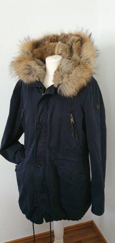 Blonde No. 8 Manteau en duvet bleu-bleu foncé