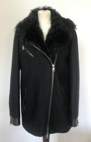 Blonde No. 8 Giacca di lana nero-argento Lana