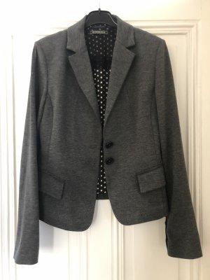 Blonde No. 8 Blazer in jersey grigio chiaro