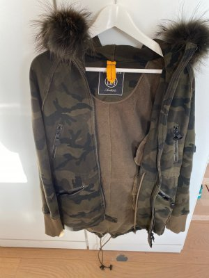 Blonde No.8 Camouflage Sweatshirt Jacke