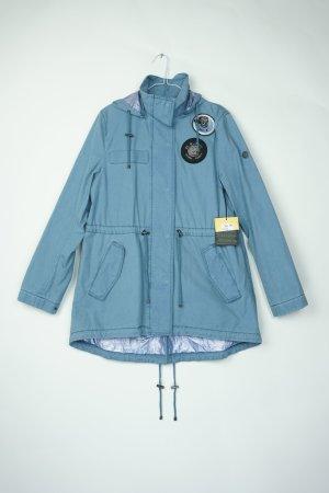Blonde No. 8 DOVER Neu Parka Jacke Gr. M/38 blau metallic