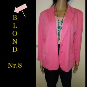 Blonde No. 8 Klassischer Blazer roze-roze Gemengd weefsel