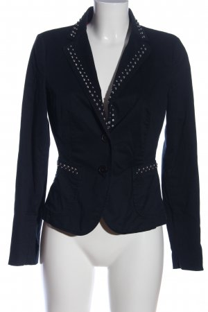 Blonde No. 8 Kurz-Blazer schwarz Casual-Look
