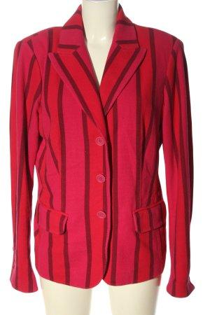 Blonde No. 8 Kurz-Blazer rot-pink Allover-Druck Elegant