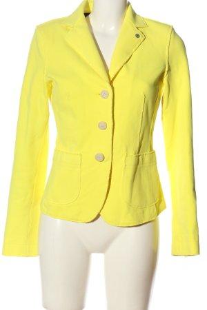 Blonde No. 8 Kurz-Blazer blassgelb Business-Look