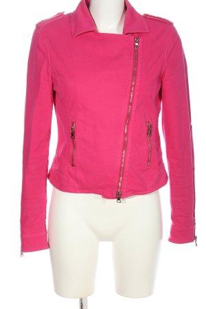 Blonde No. 8 Kurzjacke pink Streifenmuster Casual-Look