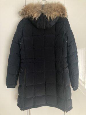 Blonde No. 8 Manteau en duvet bleu foncé
