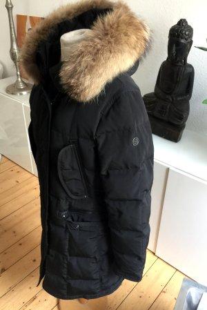 Blonde No. 8 Abrigo de plumón negro