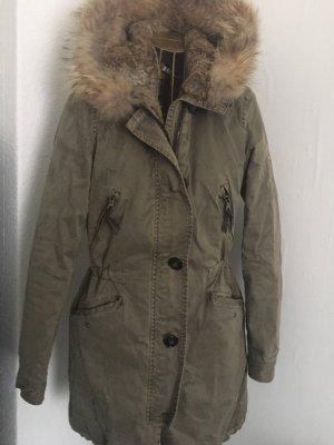 Blonde No. 8 Hooded Coat khaki
