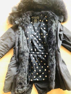 Blonde No. 8 Pelt Coat dark blue