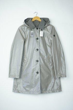 Blonde No. 8 Regenmantel Neu Wendemantel Parka Gr. M / 38 grau glänzend metallic