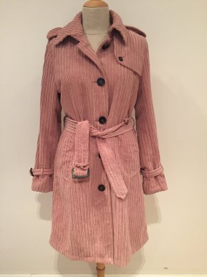 Blonde No. 8 Trenchcoat stoffig roze