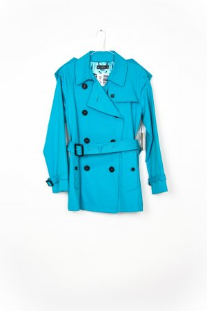 Blonde No. 8 Trench Coat turquoise